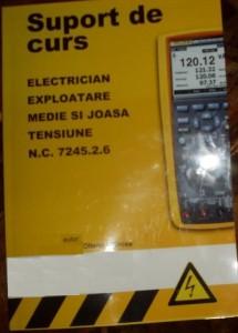 Curs Electrician EMJT ,o varianta mai veche de suport curs electrician .Dupa acest manual a fost calificat Petrom-ul